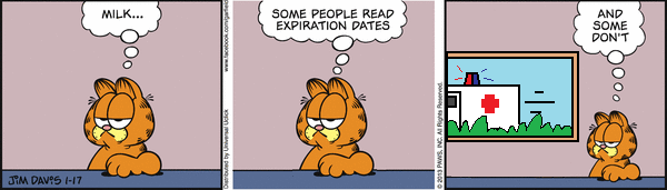 It's a little more complicated than that Garfield...